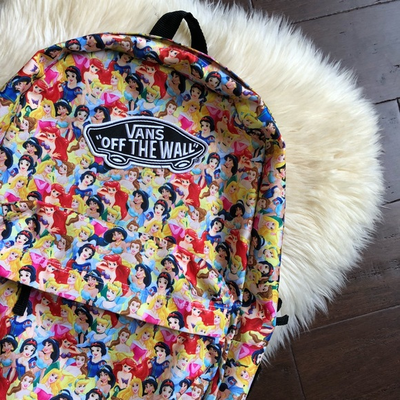 39100b0378 Disney x Vans Multi Princess Backpack